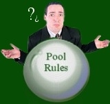 Pool Table Rules Logo